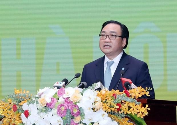 Celebration des dix ans de l'elargissement des limites administratives de Hanoi hinh anh 2