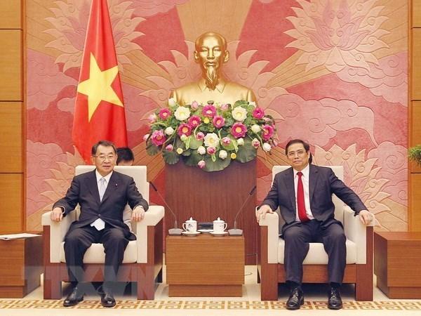 Renforcer la cooperation legislative Vietnam-Japon hinh anh 1