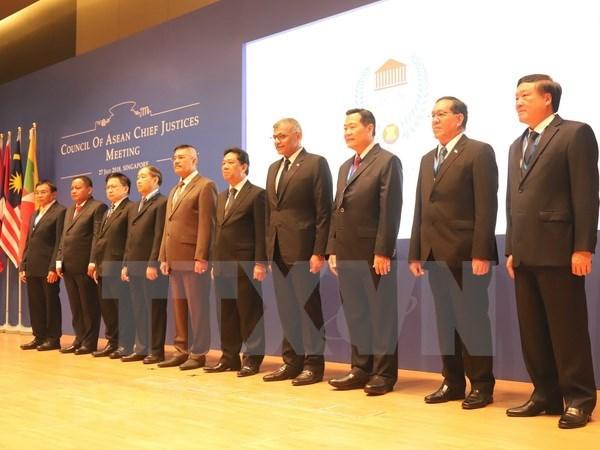 Les pays membres de l'ASEAN renforcent leur cooperation dans la justice hinh anh 1