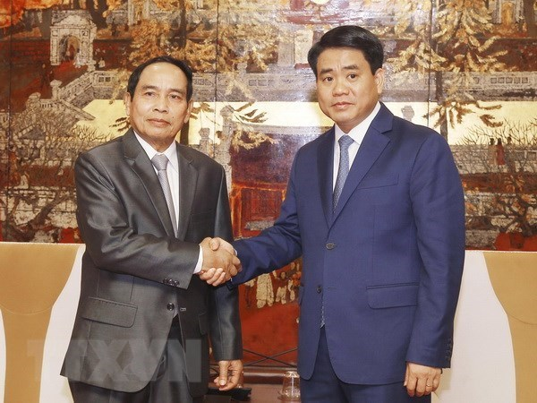 Laos et Hanoi partagent des experiences en matiere d'inspection et de lutte contre la corruption hinh anh 1