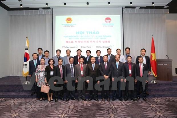 Vinh Phuc deroule le tapis rouge aux investisseurs sud-coreens hinh anh 2