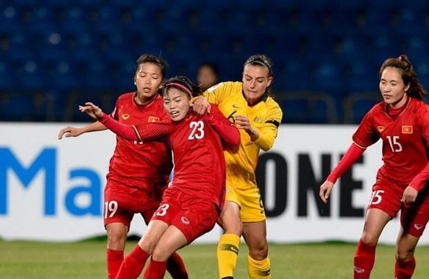 L'equipe de football feminin du Vietnam effectue un stage au Japon hinh anh 1