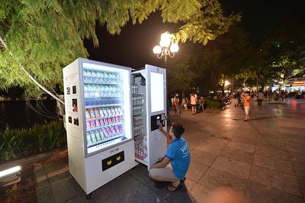 Environ 1.000 distributeurs automatiques installes a Hanoi hinh anh 1
