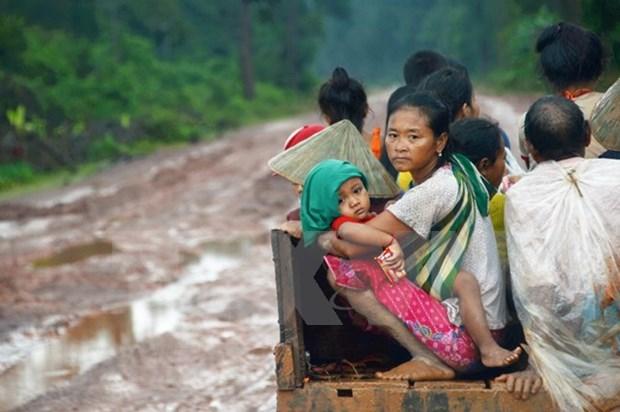 Effondrement d'un barrage au Laos : le ministere vietnamien de la Defense debloque 50.000 dollars hinh anh 1