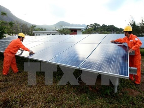 Ho Chi Minh-Ville se concentre sur le developpement de l'energie solaire hinh anh 1
