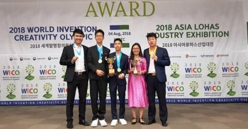 Des eleves vietnamiens remportent de bons resultats aux WICO 2018 hinh anh 1