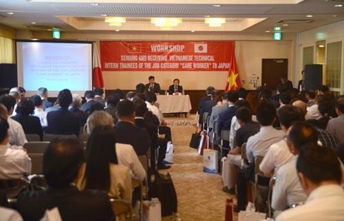 Seminaire sur l'envoi des stagiaires garde-malades vietnamiens au Japon hinh anh 1