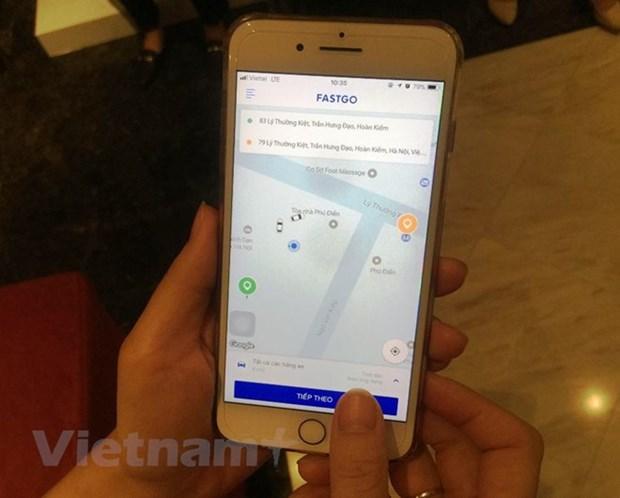 Promotion de l'application vietnamienne de reservation de VTC FastGO hinh anh 1