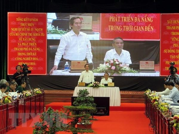 Colloque sur le developpement de Da Nang hinh anh 1