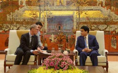 Hanoi renforce sa cooperation avec l'Allemagne et la France hinh anh 1