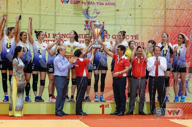 Volley-ball feminin : le Vietnam remporte le tournoi VTV – Coupe Hoa Sen 2018 hinh anh 1