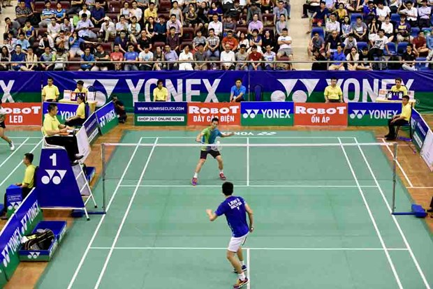 Badminton : fin du tournoi international Yonex-Sunrise Vietnam Open 2018 hinh anh 1