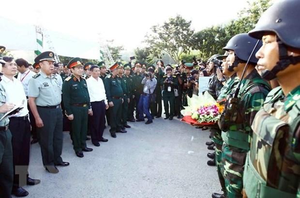 Cinq pays participent au 3eme echange d'amitie frontaliere du Vietnam hinh anh 1