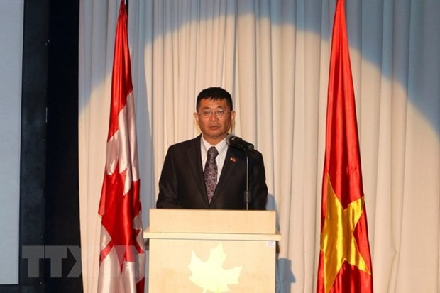 Celebration du 45e anniversaire des relations Vietnam – Canada hinh anh 1