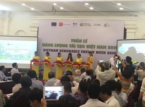 Semaine des energies renouvelables du Vietnam 2018 hinh anh 1
