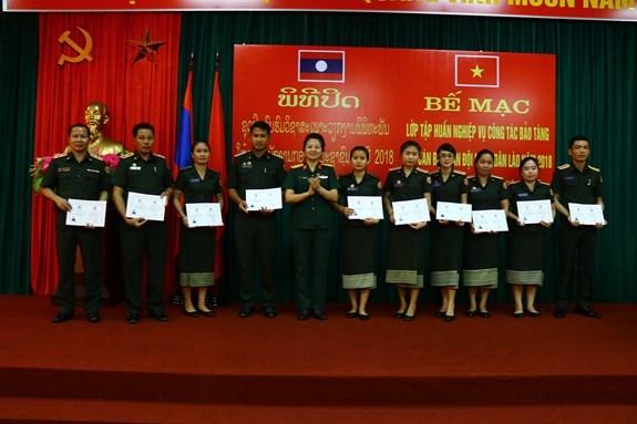 Musee: un cours de formation en faveur de cadres laotiens hinh anh 1