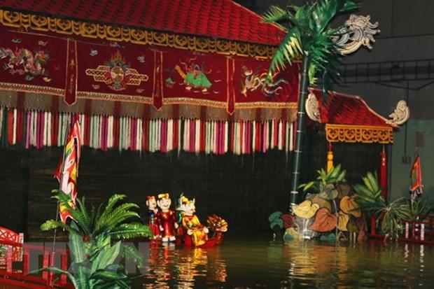 Les marionnettes du Vietnam s'illustrent lors d'un festival en Russie hinh anh 1