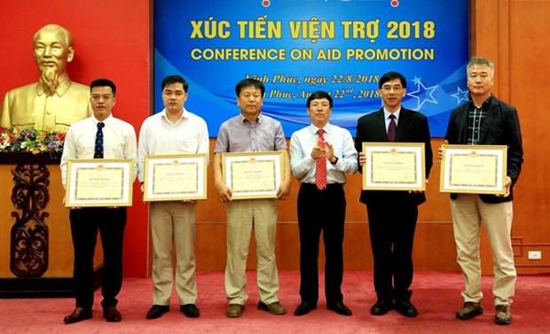 Vinh Phuc renforce la mobilisation des aides etrangeres au developpement hinh anh 1