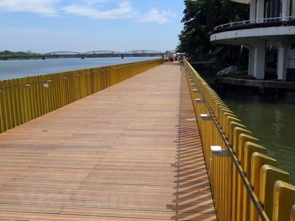 La ville de Hue inaugurera une rue pietonne le long de la riviere Huong en septembre hinh anh 1