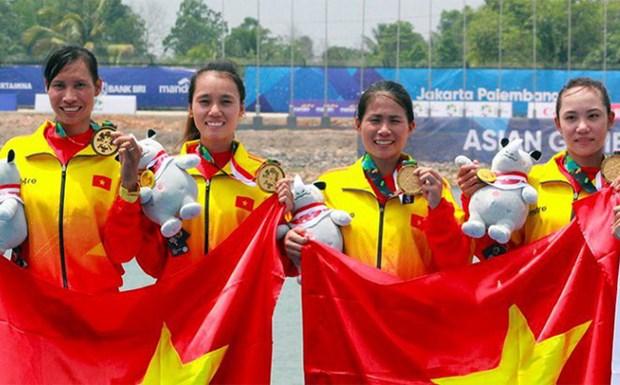 ASIAD 2018 : le Vietnam grimpe a la 14e place apres cinq jours de competition hinh anh 1