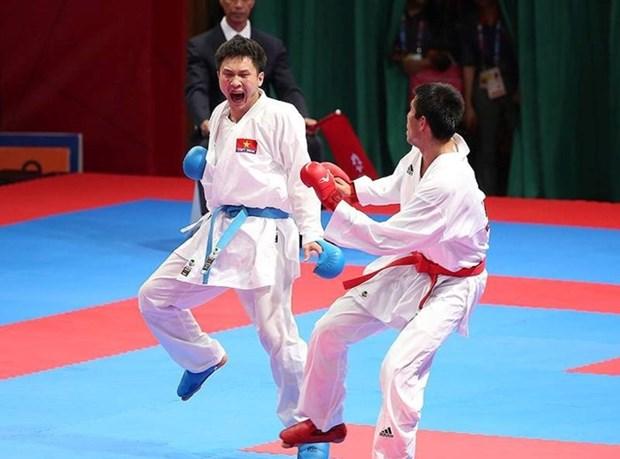 ASIAD 2018 : le Vietnam remporte une medaille d'argent en karate hinh anh 1