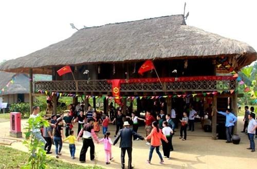 Activites en l'honneur de la Fete nationale au Village culturel et touristique des ethnies hinh anh 1