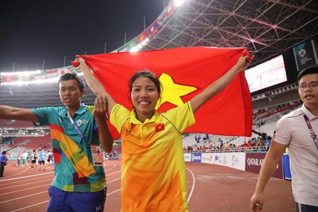ASIAD : l'athletisme et le football masculin apportent de bonnes nouvelles au Vietnam hinh anh 1