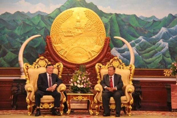 Justice : Des dirigeants laotiens apprecient les resultats de la cooperation avec le Vietnam hinh anh 1