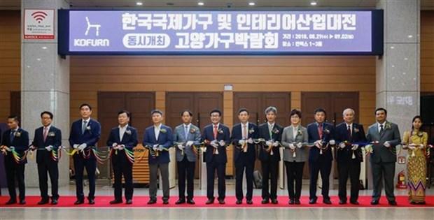 Foire de la decoration interieure de l'ASEAN en Republique de Coree hinh anh 1
