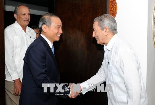 Une delegation de Da Nang en visite de travail a Cuba hinh anh 1