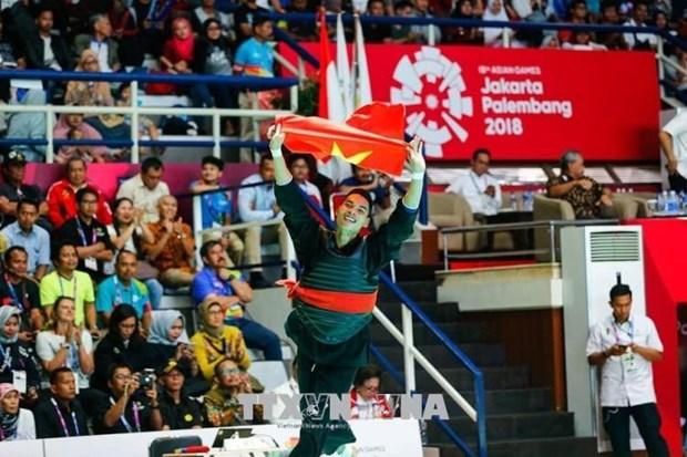 ASIAD 2018 : le Vietnam remplit son objectif fixe au 11e jour de competition hinh anh 1