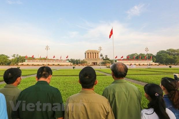 Visiter la Place Ba Dinh lors de la Fete nationale hinh anh 1