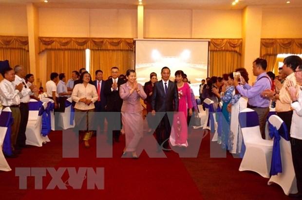 L'Association khmero-vietnamienne celebre la Fete nationale au Cambodge hinh anh 1