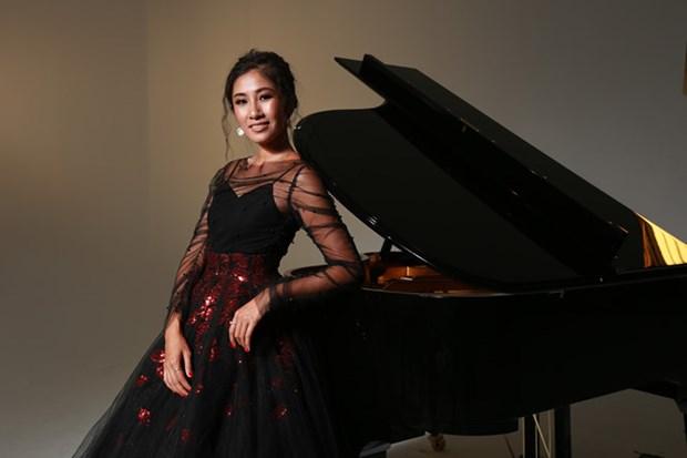 Une pianiste australienne d'origine vietnamienne au concert d'amitie Vietnam-Australie hinh anh 1