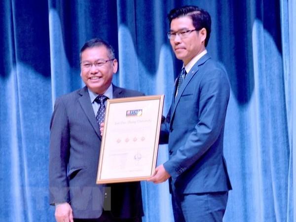 La premiere universite du Vietnam classee quatre etoiles hinh anh 1