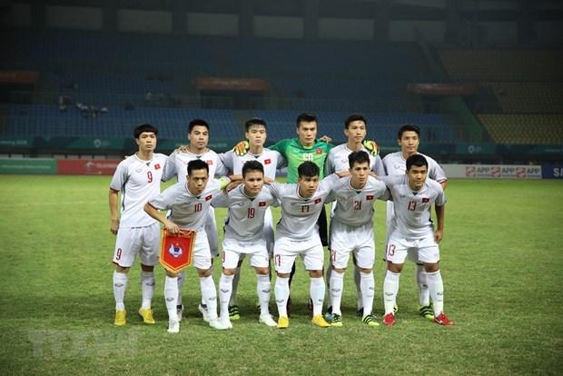 Le PM decerne le satisfecit a l'equipe olympique de football masculin du Vietnam hinh anh 1
