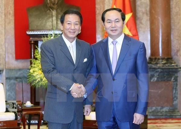 Prolongation du mandat de l'ambassadeur special Vietnam-Japon hinh anh 1
