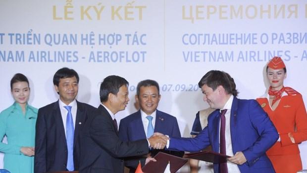 Les compagnies aeriennes vietnamiennes renforcent la cooperation internationale hinh anh 1
