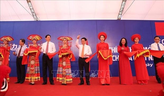 Ouverture a la circulation du poste frontalier de Chi Ma (Vietnam)-Aidian (Chine) hinh anh 1