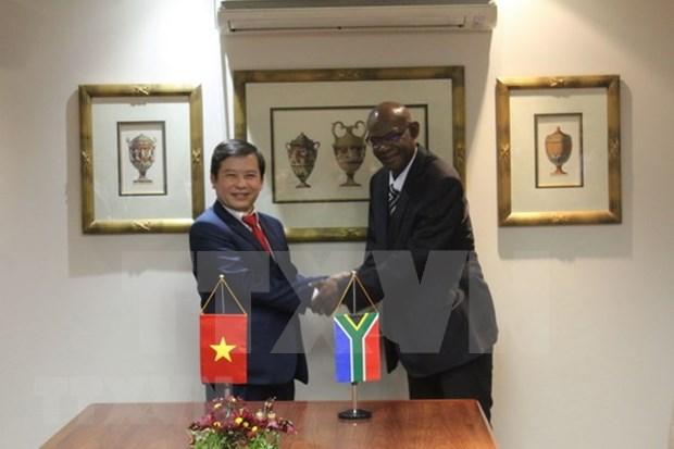 Vietnam-Afrique du Sud : cooperation dans la prevention et la lutte de la criminalite hinh anh 1