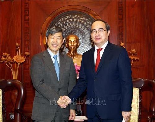 Ho Chi Minh-Ville intensifie sa cooperation avec la JICA hinh anh 1