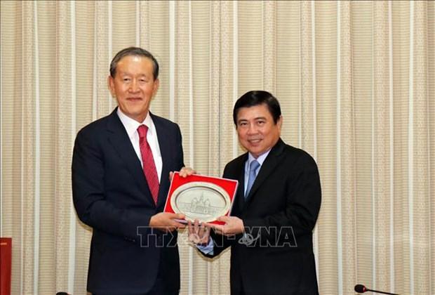 Cooperation efficace entre Ho Chi Minh-Ville et la Republique de Coree hinh anh 1