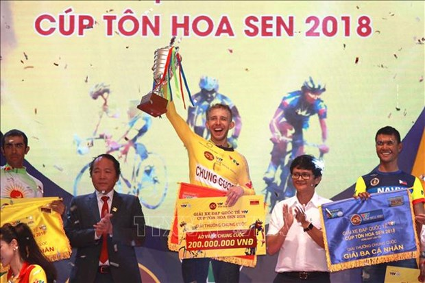 Cloture de la course internationale de cyclisme VTV – Coupe Ton Hoa Sen hinh anh 1