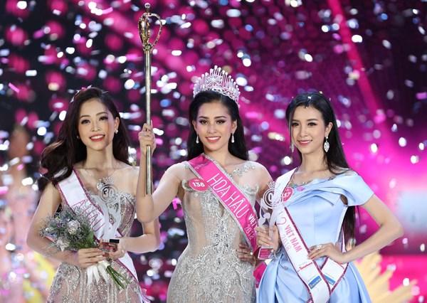 Miss Vietnam 2018 : Tran Tieu Vy, nouvelle reine de la beaute du Vietnam hinh anh 1