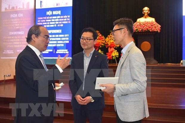Appel a investissement au projet de ville intelligente de HCM-Ville hinh anh 1