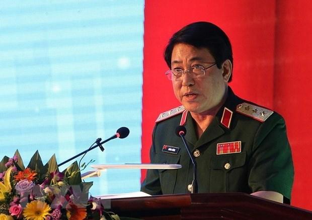 Une delegation de l'Armee populaire du Vietnam en visite officielle au Laos et au Cambodge hinh anh 1