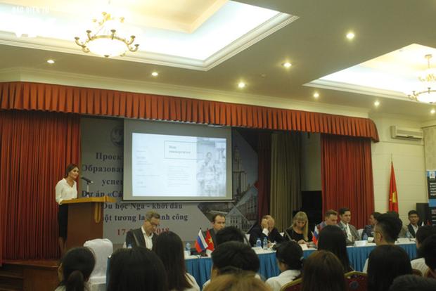 Exposition sur les Universites russes de premier rang a Hanoi hinh anh 1