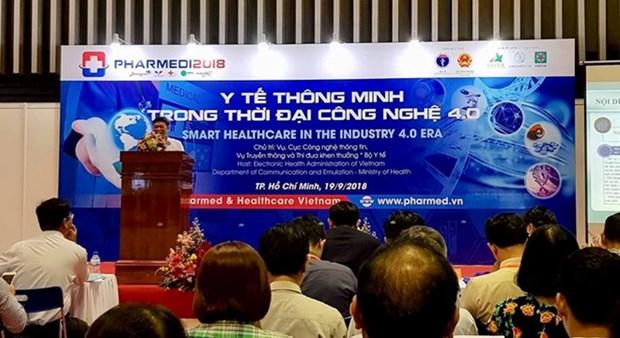 Ouverture de l'exposition Pharmed & Healthcare Vietnam 2018 hinh anh 3