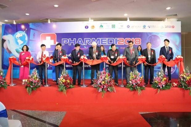 Ouverture de l'exposition Pharmed & Healthcare Vietnam 2018 hinh anh 2
