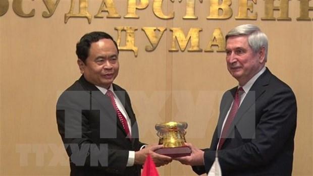 Intensification du partenariat strategique integral entre le Vietnam et la Russie hinh anh 1